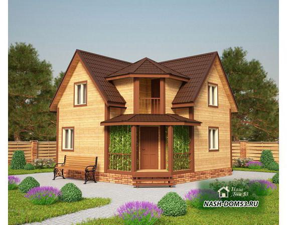 Проект Каркасного Дома №42 «ТПД 42»