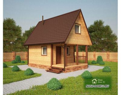 Проект Каркасного Дома №48 «ТПД 48»