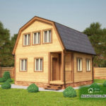 Проект Дома из бруса №1 «ТПД 1-6х6»