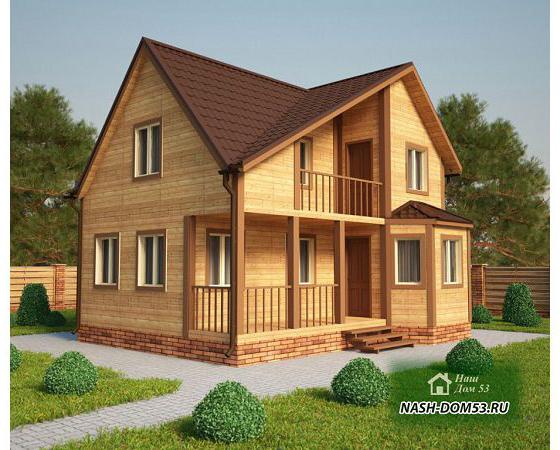 Проект Каркасного Дома №11 «ТПД 11-7.5х9»