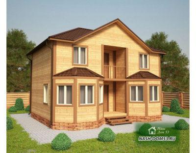 Проект Каркасного Дома №16 «ТПД 16-7х9»