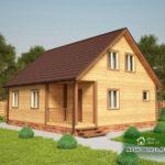 Проект Дома из бруса №6 «ТПД 6-8х9»