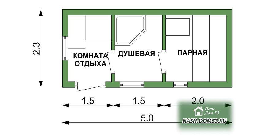 Проект Перевозной бани №87 «ПБ 3»